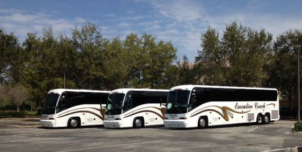 Safe, Clean, & On-Time Coach Bus Company | Executive Coach